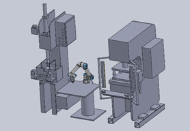 Cobot Machine Tending System